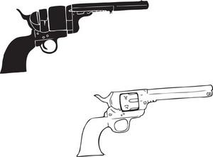 Wild West Vector Element