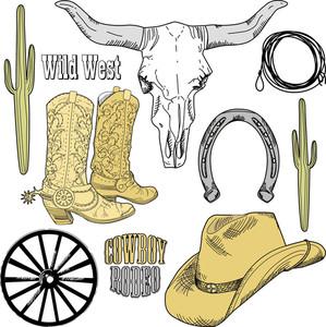Wild West Western Set