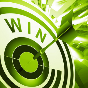 Win Target Means Successes And Victory