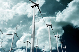 Wind Turbine Plantation