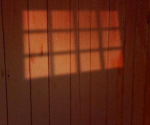 Window Light On Wooden Wall
