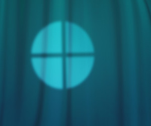 Window Lights Teal Studio Texture