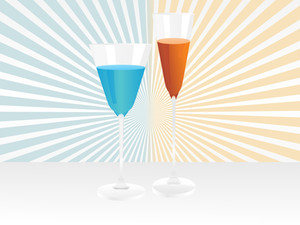 Wine Glass Vector Design11