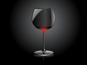 Wine Glass Vector Design2