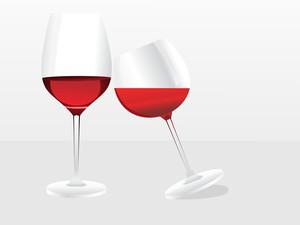 Wine Glass Vector Design8