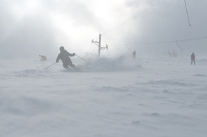 Winer man ski