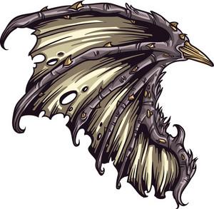 Wings Vector Element