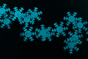 Winter Christmas Snowflakes