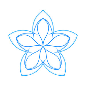 Wireframe Snowflake