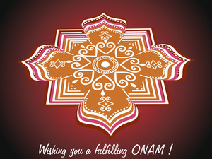 Wish You A Fulfilling Onam