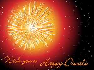Wish You A Happy Diwali Card