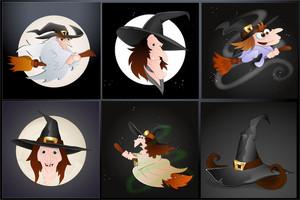 Witch Vectors