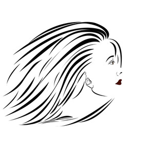 Woman-sideview-portrait
