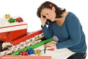 Woman With Holiday Fatigue