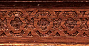 Wood Vintage Carved