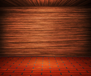 Wooden Interior Room Background