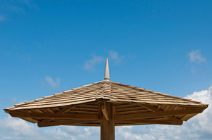 Wooden Parasol