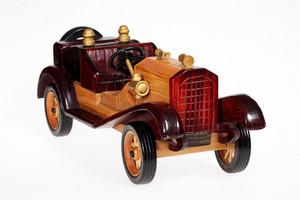 Wooden Retro Car