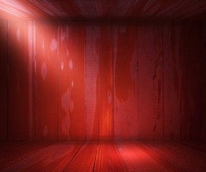 Wooden Spotlight Room Background Red Texture