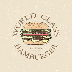 World Class Hamburger