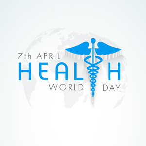 World Health Day Background.