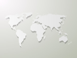 World Map - Vector Background
