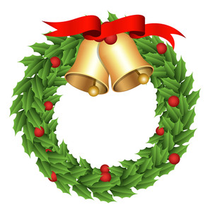 Wreath - Christmas Vector Illustration