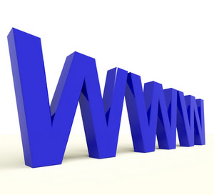 Www Word Showing Online Websites Or Internet