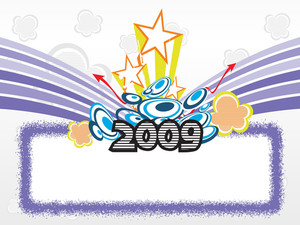 Year 2009 Creative Frame Design11