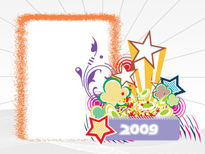 Year 2009 Creative Frame Design4