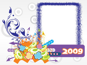 Year 2009 Creative Frame Design5