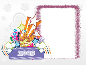 Year 2009 Creative Frame Design6