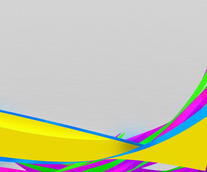 Yellow Abstract Shapes Background