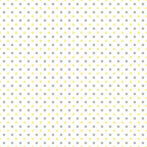 Yellow And Grey Polka Dots Pattern On A White Background