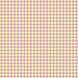 Yellow And Purple Retro Diagonal Checkerboard Pattern