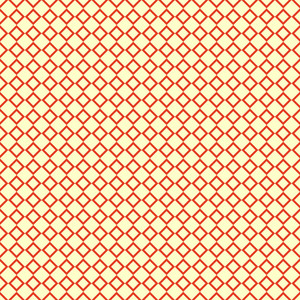 Yellow And Red Retro Diagonal Checkerboard Pattern