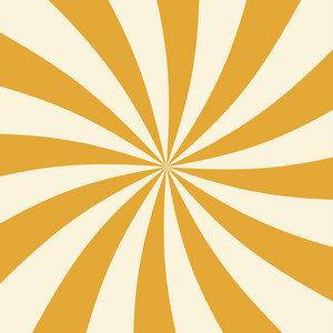 Yellow And White Swirl Circus Pattern