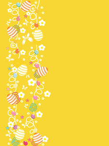 Yellow Artistic Design Background