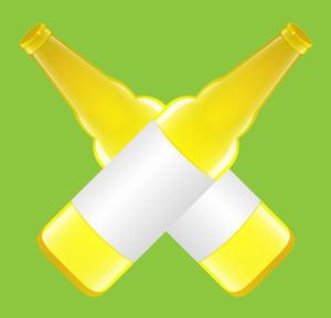 Yellow Beer Bottles