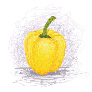 Yellow-bell-pepper