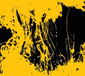 Yellow Black Grunge
