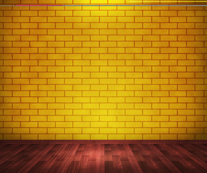 Yellow Brick Room Background