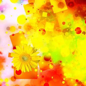 Yellow Bright Background