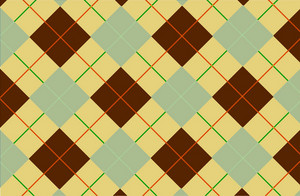 Yellow Brown Tartan
