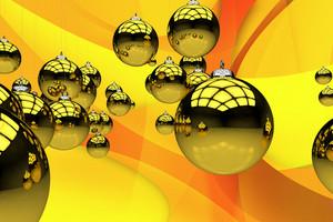 Yellow Christmas Theme