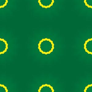 Yellow Circle Green Backdrop