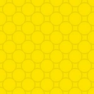 Yellow Circles Pattern