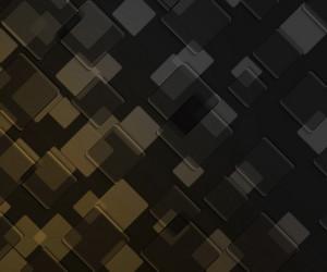 Yellow Dark Squares Background