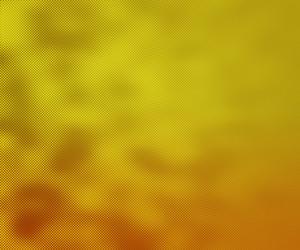 Yellow Halftone Texture