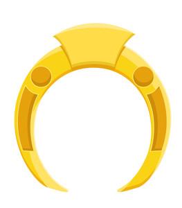 Yellow Horseshoe